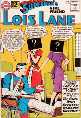 Superman's Girlfriend Lois Lane #38. Click for current values.