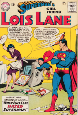 Superman's Girlfriend Lois Lane #39. Click for current values.