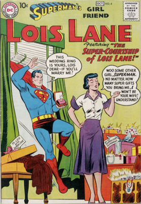 Superman's Girlfriend Lois Lane #4. Click for current values.