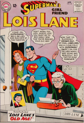 Superman's Girlfriend Lois Lane #40. Click for current values.