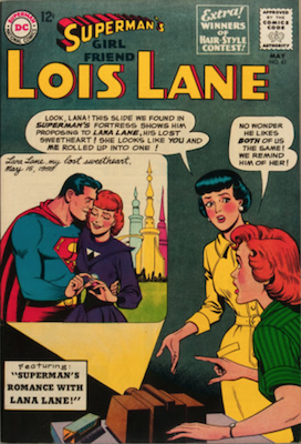 Superman's Girlfriend Lois Lane #41. Click for current values.