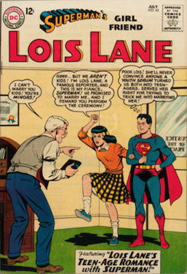 Superman's Girlfriend Lois Lane #42. Click for current values.