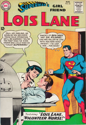 Superman's Girlfriend Lois Lane #43. Click for current values.