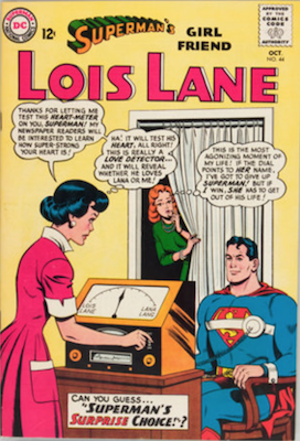Superman's Girlfriend Lois Lane #44. Click for current values.