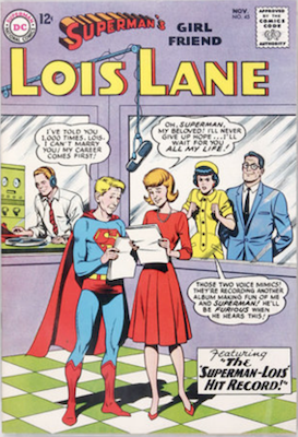 Superman's Girlfriend Lois Lane #45. Click for current values.