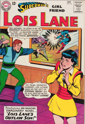 Superman's Girlfriend Lois Lane #46. Click for current values.