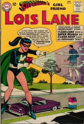 Superman's Girlfriend Lois Lane #47. Click for current values.