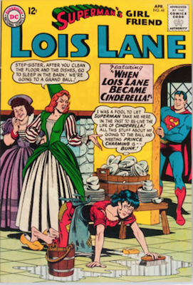 Superman's Girlfriend Lois Lane #48. Click for current values.