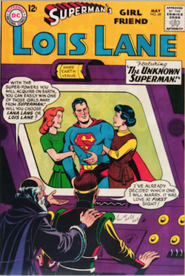 Superman's Girlfriend Lois Lane #49. Click for current values.