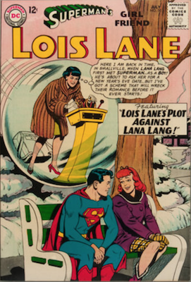 Superman's Girlfriend Lois Lane #50. Click for current values.