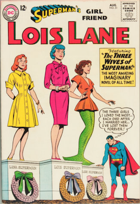 Superman's Girlfriend Lois Lane #51. Click for current values.