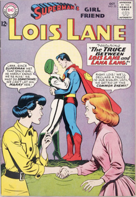 Superman's Girlfriend Lois Lane #52. Click for current values.