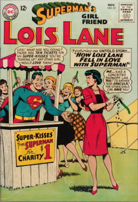 Superman's Girlfriend Lois Lane #53. Click for current values.