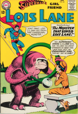 Superman's Girlfriend Lois Lane #54. Click for current values.