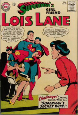 Superman's Girlfriend Lois Lane #55. Click for current values.