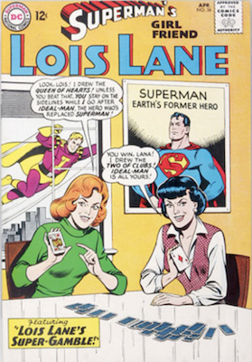 Superman's Girlfriend Lois Lane #56. Click for current values.