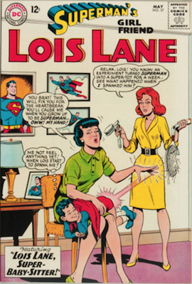 Superman's Girlfriend Lois Lane #57. Click for current values.