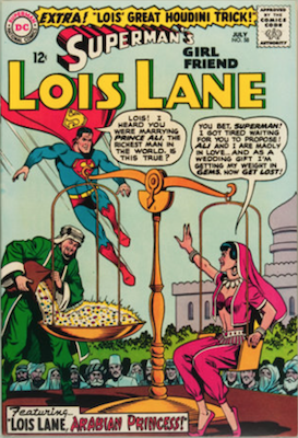 Superman's Girlfriend Lois Lane #58. Click for current values.