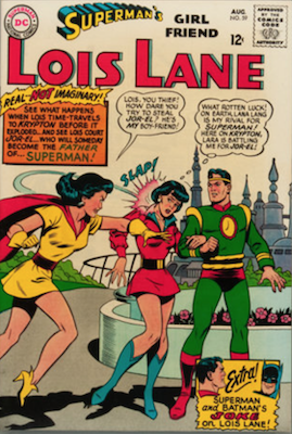 Superman's Girlfriend Lois Lane #59. Click for current values.