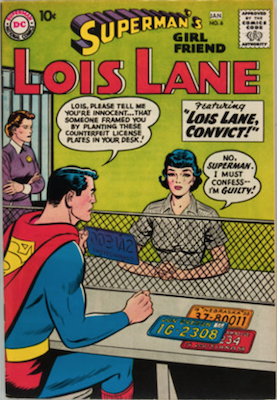 Superman's Girlfriend Lois Lane #6. Click for current values.