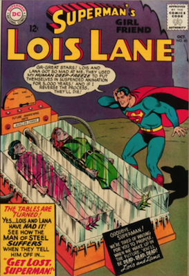 Superman's Girlfriend Lois Lane #60. Click for current values.