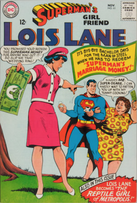 Superman's Girlfriend Lois Lane #61. Click for current values.