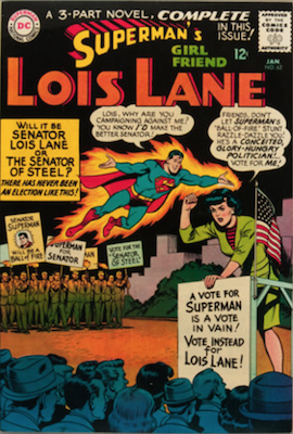 Superman's Girlfriend Lois Lane #62. Click for current values.