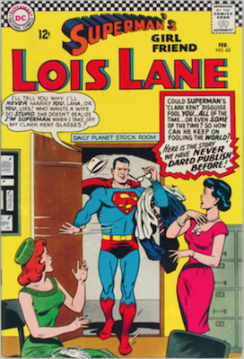 Superman's Girlfriend Lois Lane #63. Click for current values.