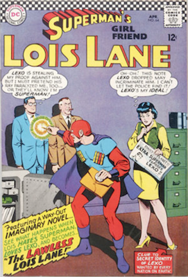 Superman's Girlfriend Lois Lane #64. Click for current values.