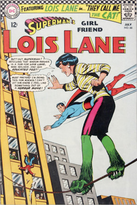 Superman's Girlfriend Lois Lane #66. Click for current values.