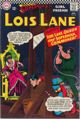 Superman's Girlfriend Lois Lane #67. Click for current values.