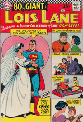 Superman's Girlfriend Lois Lane #68. Click for current values.