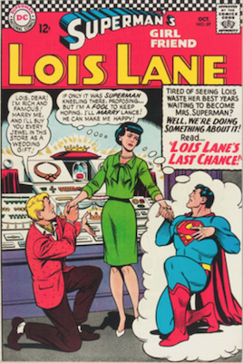 Superman's Girlfriend Lois Lane #69. Click for current values.