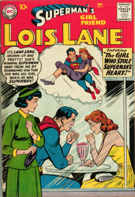 Superman's Girlfriend Lois Lane #7. Click for current values.
