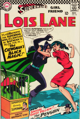 Superman's Girlfriend Lois Lane #70. Click for current values.