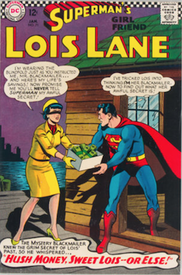 Superman's Girlfriend Lois Lane #71. Click for current values.