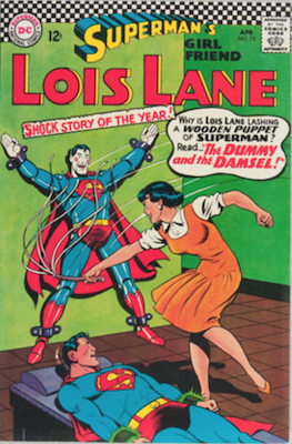 Superman's Girlfriend Lois Lane #73. Click for current values.