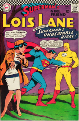 Superman's Girlfriend Lois Lane #74. Click for current values.