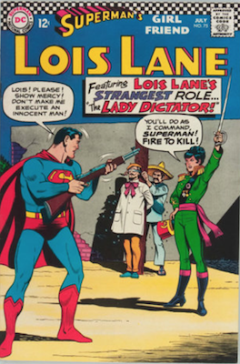 Superman's Girlfriend Lois Lane #75. Click for current values.