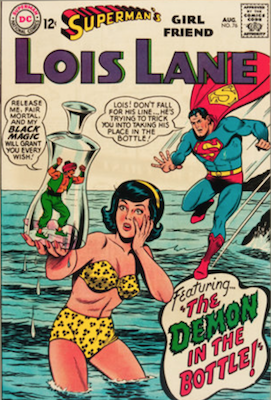 Superman's Girlfriend Lois Lane #76. Click for current values.