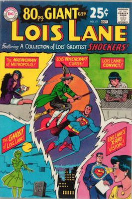 Superman's Girlfriend Lois Lane #77. Click for current values.