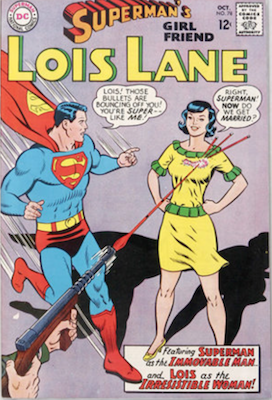 Superman's Girlfriend Lois Lane #78. Click for current values.