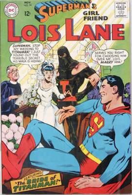 Superman's Girlfriend Lois Lane #79. Click for current values.