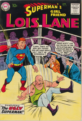 Superman's Girlfriend Lois Lane #8. Click for current values.