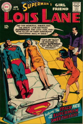 Superman's Girlfriend Lois Lane #82. Click for current values.
