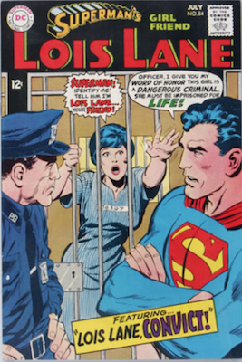 Superman's Girlfriend Lois Lane #84. Click for current values.