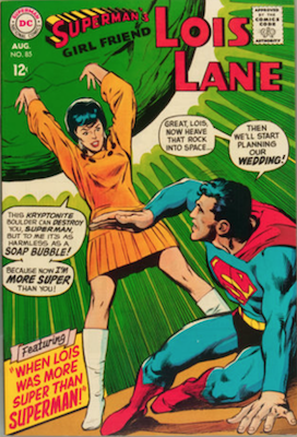 Superman's Girlfriend Lois Lane #85. Click for current values.