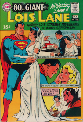 Superman's Girlfriend Lois Lane #86. Click for current values.