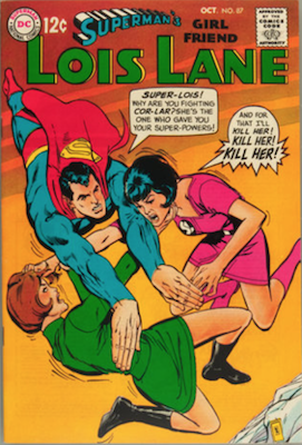 Superman's Girlfriend Lois Lane #87. Click for current values.