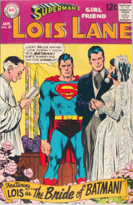 Superman's Girlfriend Lois Lane #89. Click for current values.